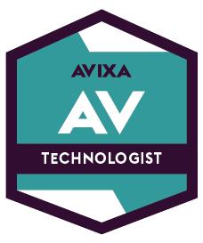 AV Technologist | AVIXA