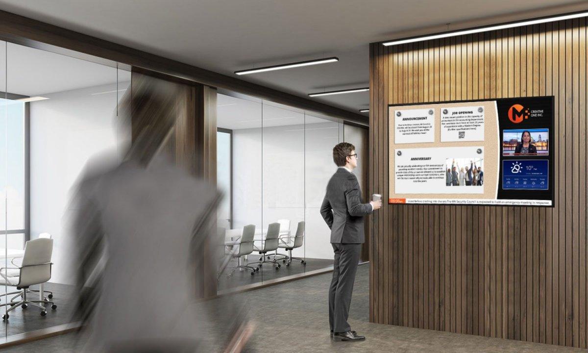 señalización digital en el lugar de trabajo | AVIXA