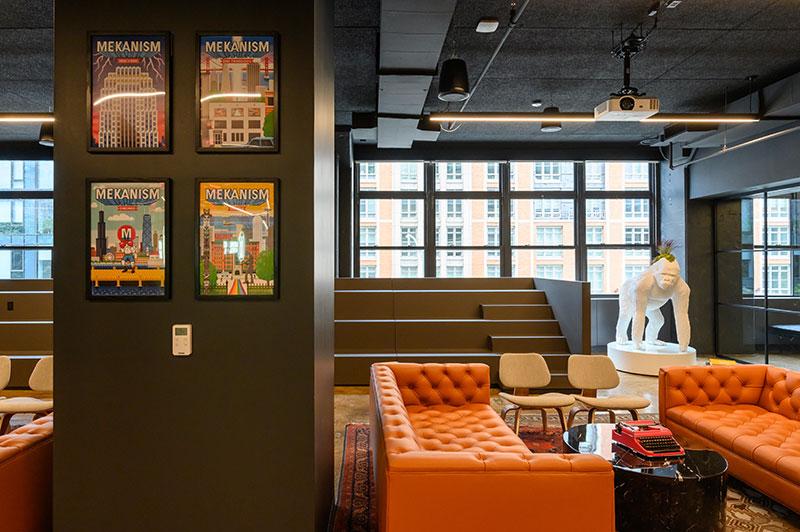 Ambientes luxuosos de escritório incorporam elementos multissensoriais que promovem o bem-estar. Crédito da foto | AVIXA