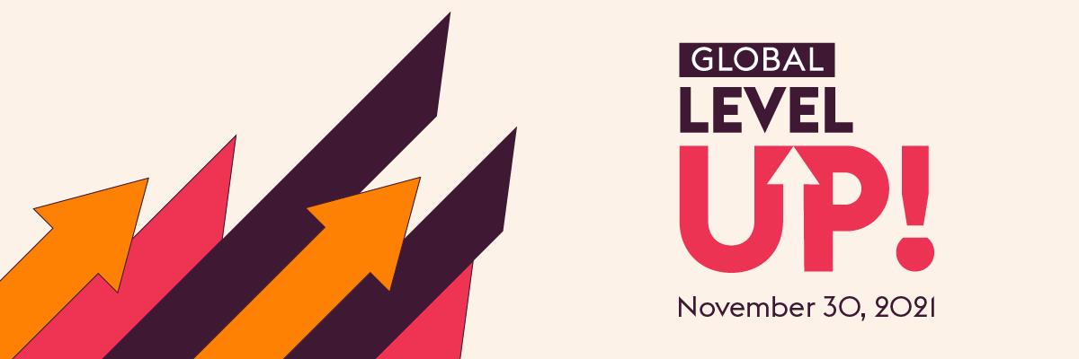 Global Level Up! Banner