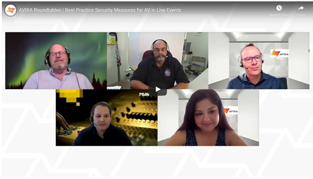 Best Practice for Security Measures for AV in Live Events Screenshot | AVIXA