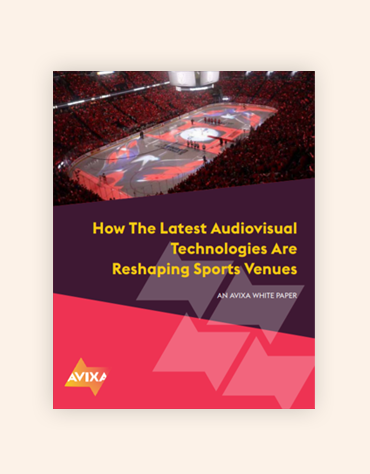 How the Latest Audiovisual Technologies Are Reshaping Sports Venues