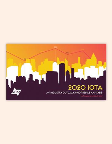 July 2020 IOTA Brief | AVIXA