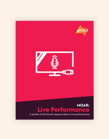 MOAR: Live Performance