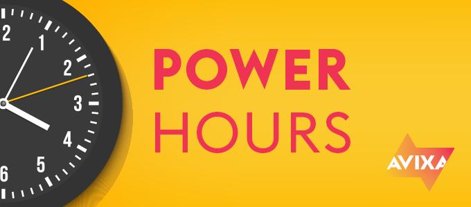 Power Hour Series Banner   AVIXA