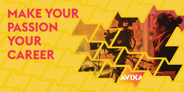 Make Your Passion Your Career | AVIXA