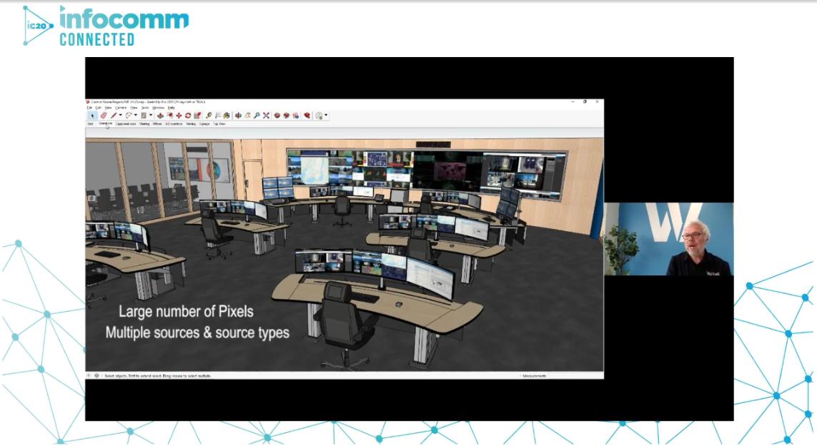 Video Wall Management - Control Room graphic   AVIXA