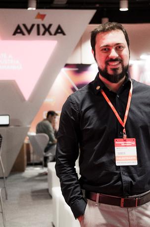 André Luis Atique, Gerente Comercial, AW Tech | AVIXA