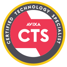 CTS Badge | AVIXA