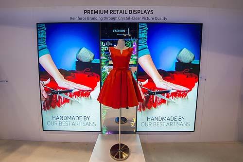 Digital Signage Retail Display