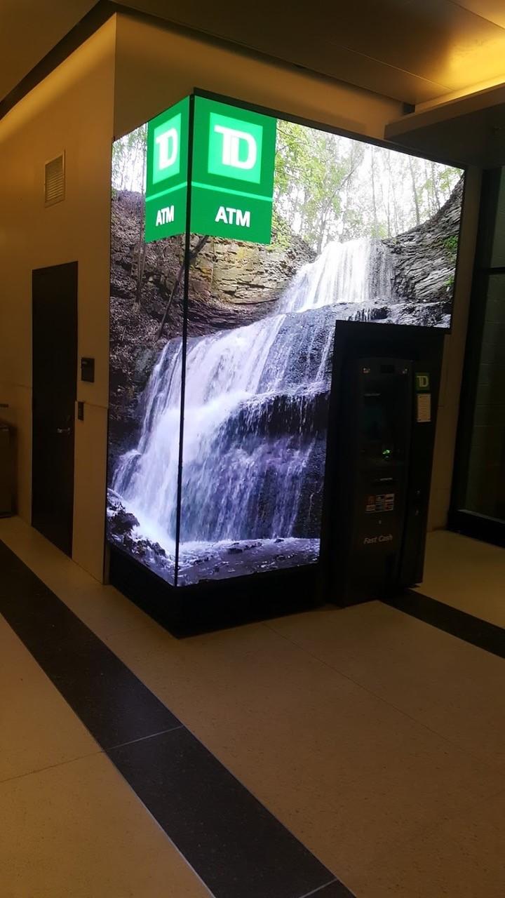 Bank ATM LED screen | AVIXA