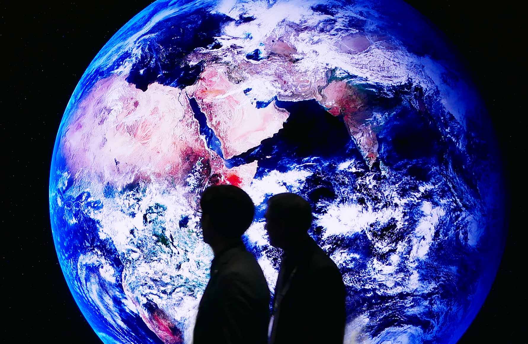 Earth View AV Display