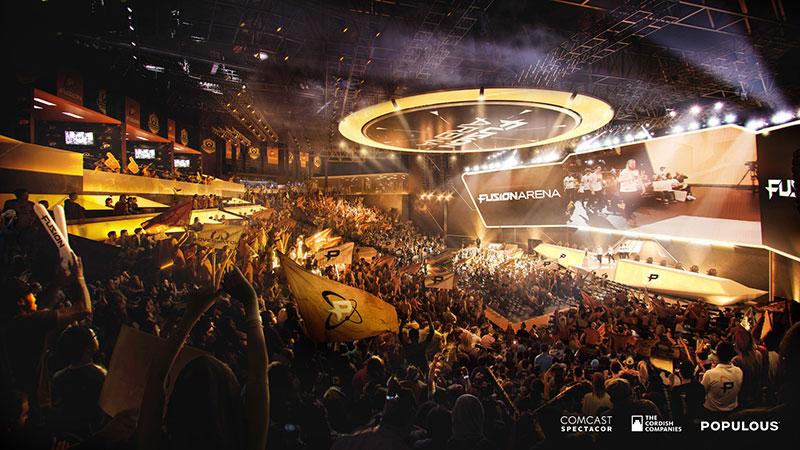 Fusion Arena em Filadelfia, PA | AVIXA