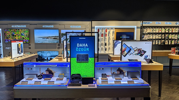 Digital Signage in Retail environment