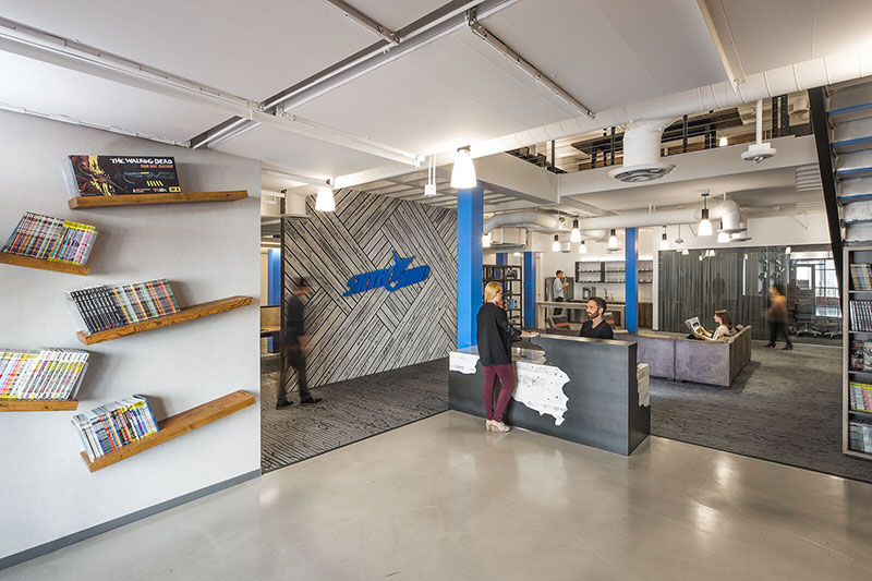 Skybound utilizes design to create motion and energy that match their company and its people | AVIXA