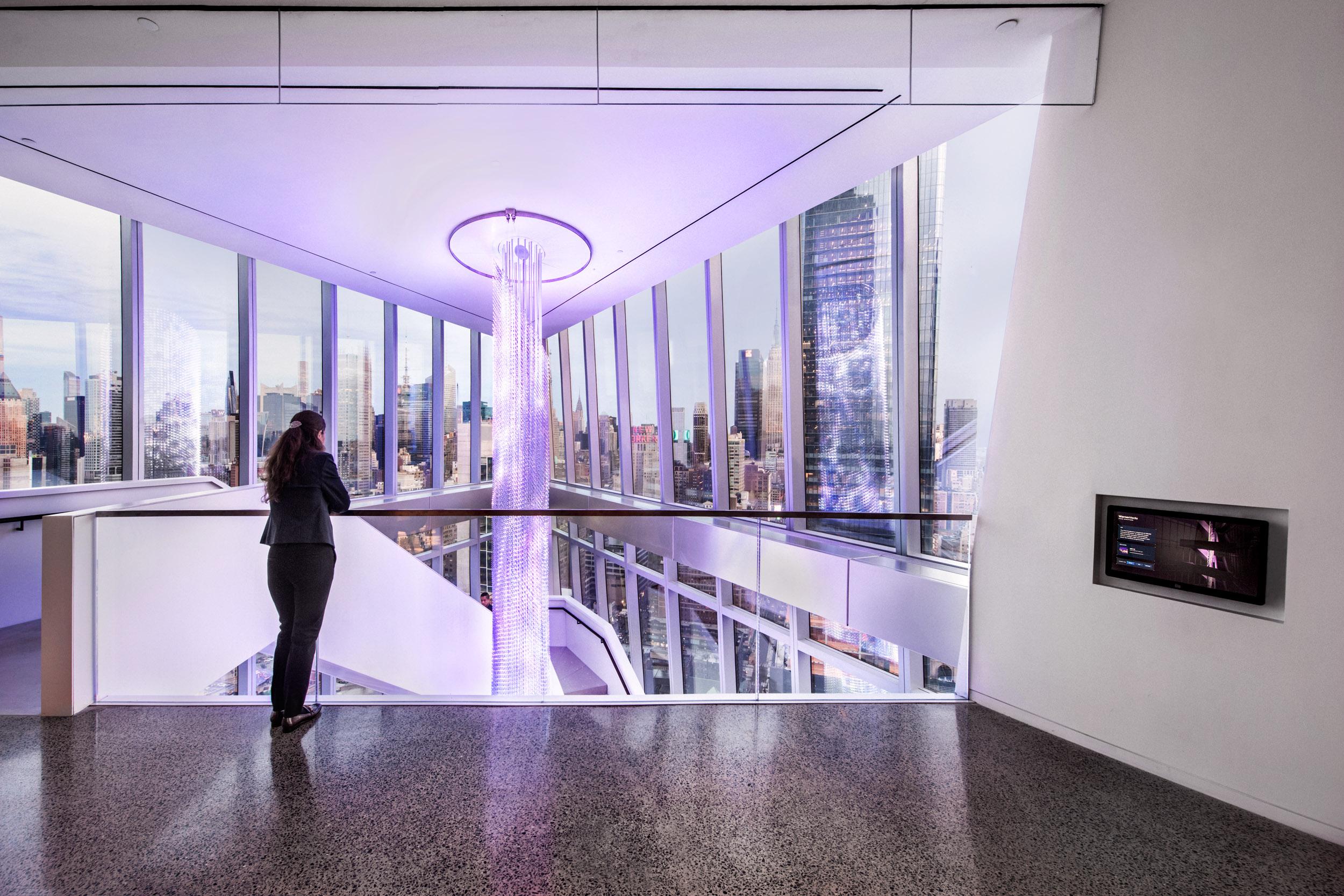 The Prow at WarnerMedia's Hudson Yards HQ by ESI Design (Photo credit: Keena Photo) | AVIXA