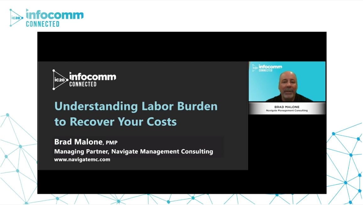 Understanding Labor Burden to Recover Your Costs with Brad Malone   AVIXA