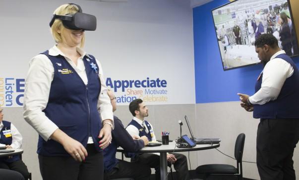 Walmart AR training