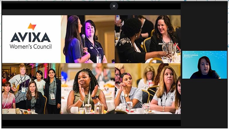 Women's Council Breakfast Presentation at InfoComm Connected | AVIXA