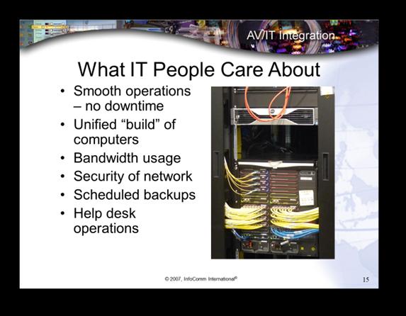 Networked AV Systems