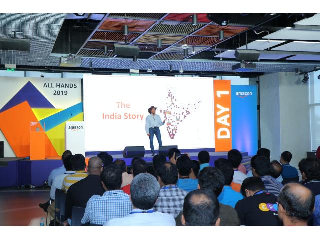 Amazon Campus in Hyderabad, India | AVIXA