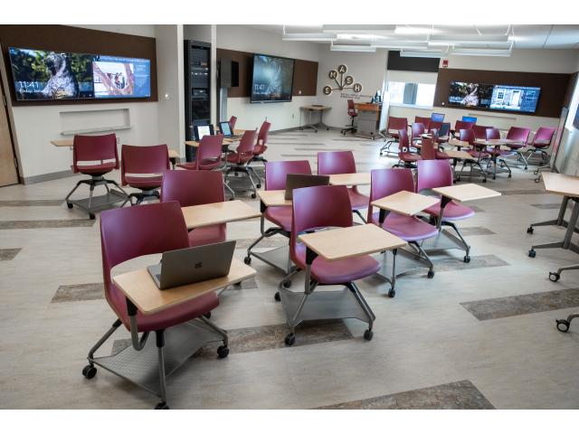 Collaborative learning classrooms in Kutztown University of Pennsylvania | AVIXA