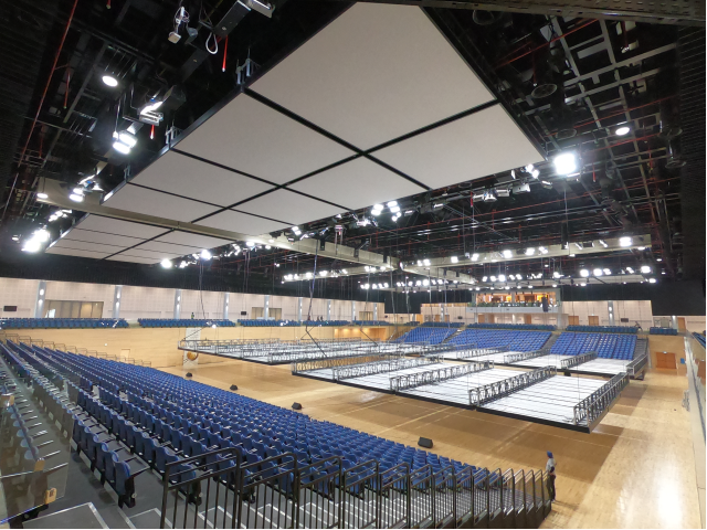 The Sports and Events Complex at Qatar University | AVIXA